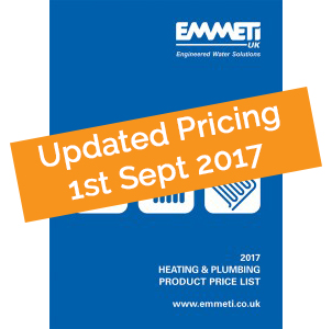 Pricing Updated 1st Sept 2017