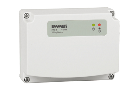 Ewc wiring centres emmeti the ewc 4 is a compact 4 way wiring centre designed for small ufh and whr systems allows central connection of all system components and includes cheapraybanclubmaster Images